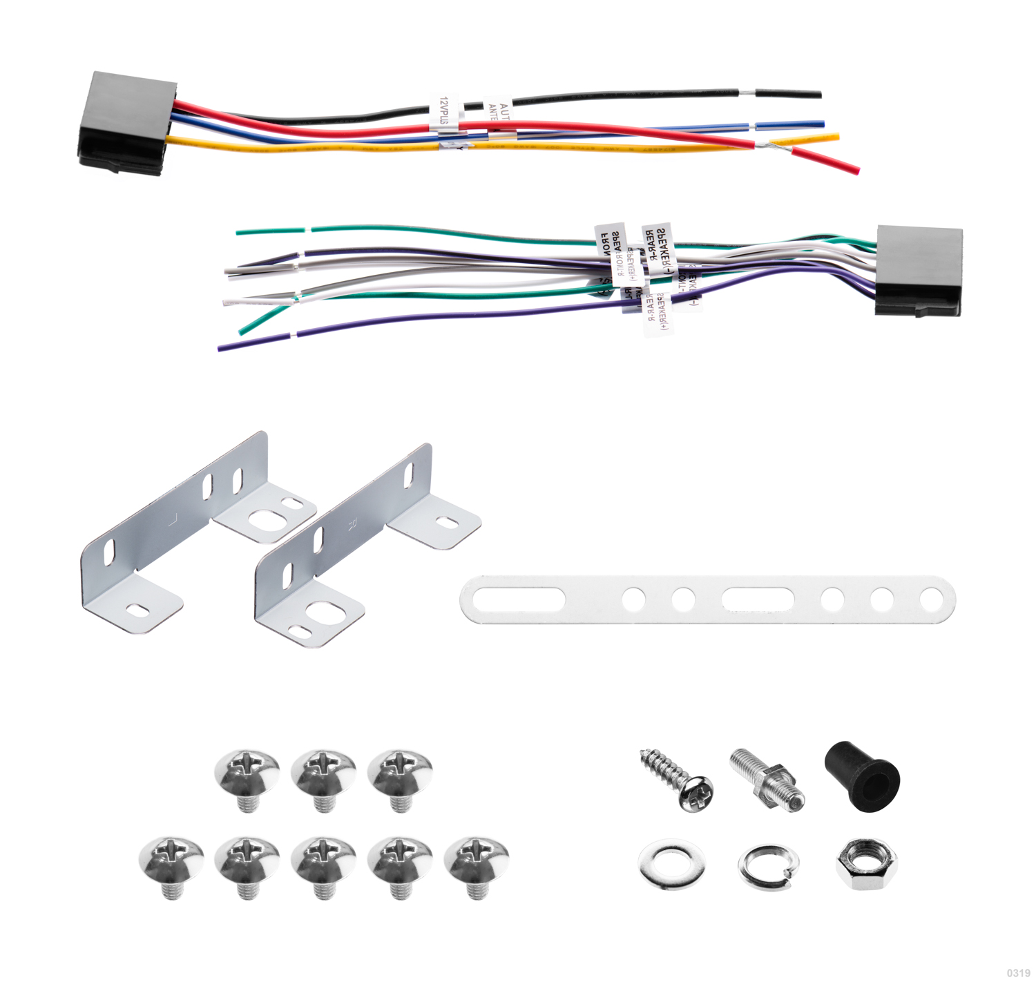 Bv9349b Boss Audio Systems Wiring Diagram On Stereo Radio Installation Dash Kit Wire Harness